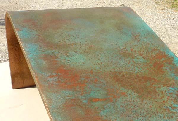 barniz efecto cobre antiguo para superficies con aspecto. Black Bedroom Furniture Sets. Home Design Ideas
