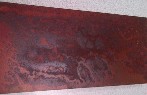 Barniz efecto xido para superficies del realista aspecto - Decaper peinture sur fer ...